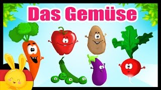 Das Gemüse auf deutsch lernen - German vocabulary - Fruits & vegetables - Titounis