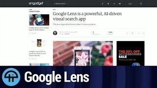 Visual AI with Google Lens