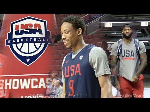 watch Team USA Chicago  Practice, Shootaround,  & Interviews   Team USA in Chicago