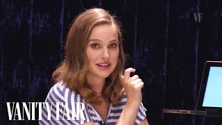 Natalie Portman Teaches You Hebrew Slang | Vanity Fair
