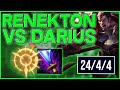 Download Video Download RTO | HOW TO BEAT DARIUS AS RENEKTON - NEW WIT'S END BUILD 3GP MP4 FLV