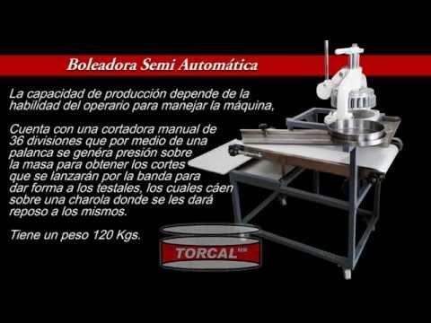 Boleadora Semi Automática Torcal para bolitas de harina