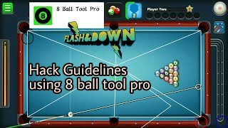 How to hack guidelines in 8 ball pool  using 8 ball tool pro | how to use 8 ball tool pro