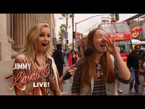 Xxx Mp4 Guest Host Jennifer Lawrence Surprises People On Hollywood Blvd 3gp Sex