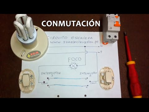 Circuito Escalera Conmutación Simple