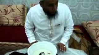Cheikh Naim Rabiia détruit la sorcellerie en présence de 2 djin (démon) 'naim rabiaa'.flv