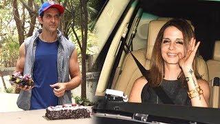 Ex Wife Sussanne Khan Arrives At Hrithik Roshan