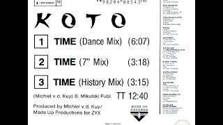 KOTO Time 7 Mix and History Mix