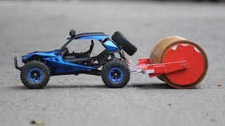 How to make a RC road roller - Big Road roller