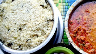 Tasty Country Chicken Curry Recipe with Coconut Rice   Country Chicken Curry   Food Cooking Videos