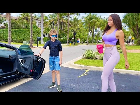 10 Year Old Boy on a Lamborghini Stole my Girlfriend