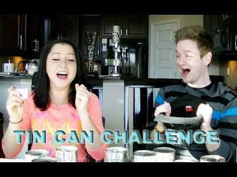 TIN CAN CHALLENGE! With Marissa