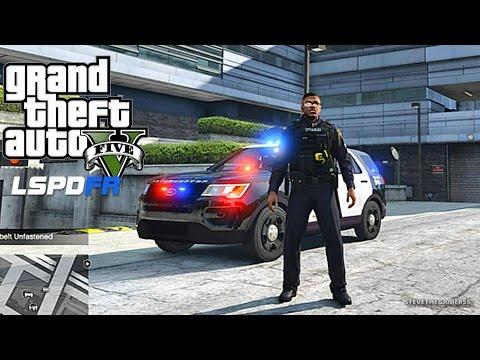 GTA 5 LSPDFR 0.3.1 - EPiSODE 93  - LET'S BE COPS - CITY PATROL (GTA 5 PC POLICE MODS)