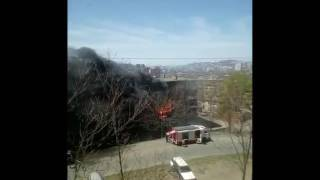 Пожар на Сахалинской