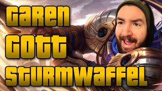 Garen Gott Sturmwaffel! | Let's Learn LoL