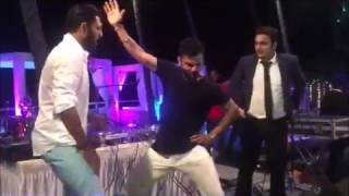 Virat Kohli dance II Virat Kohli Bhangra II Virat Kohli dance on Yuvi wedding II