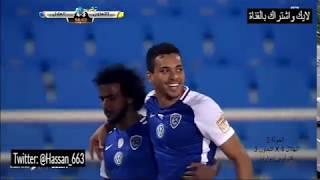 جميع اهداف نادي الهلال بالدوري السعودي لموسم 2017/2018