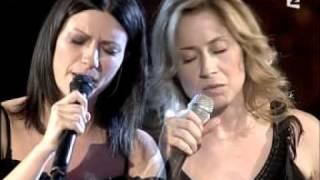 Laura Pausini & Lara Fabian - La Solitudine (Live)