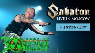 Sabaton – LIVE in Moscow 2016 (OFFICIAL DOCUMENTARY)