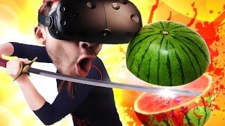 FRUIT NINJA IN FAKE LIFE   ZenBlade - VIVE
