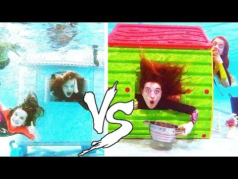 BEST UNDERWATER HOUSE WINS mystery judge Challenge w The Norris Nuts