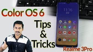 Color OS 6 Tips and tricks Malayalam / Realme3Pro tips and tricks Malayalam..