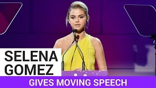 Selena Gomez Give Emotional Speech At Lupus Gala