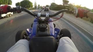 Yamaha Banshee 350  [Ride Albufeira City] BIkelife Go Pro Onboard