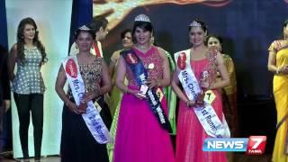 Miss and Mrs Chennai 2016 | Super Housefull | News7 Tamil