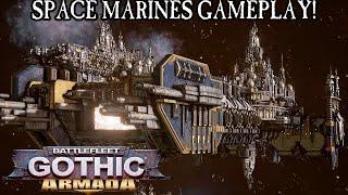 Space Marines Gameplay - Battlefleet Gothic: Armada