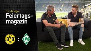 Das Feiertagsmagazin mit Marco Reus   BVB - Werder Bremen