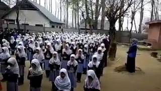 Al Madad Mola Raza a.s Girls Reciting In School
