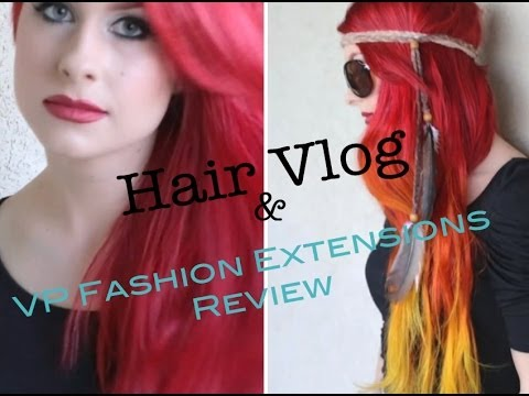 Hair Vlog & VP Fashion Extensions Review