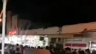 IRAN - Abadan- manifestation contre la présence des Irakiens affiliés aux partis pro-iraniens