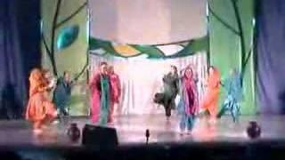 Holi Mela Panjabi folk Dance by Anugama Group Petersburg