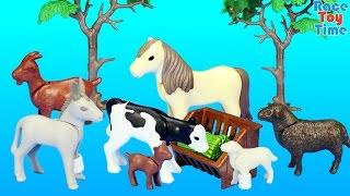 Playmobil Farm Animals Nursery Building Set Toy Build Review