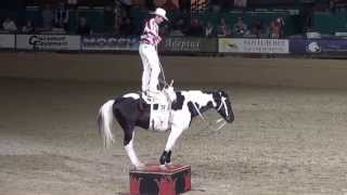 Tommie Turvey – Roman Riding & Trick Roping - Night of the Horse 2015 - Del Mar National Horse Show