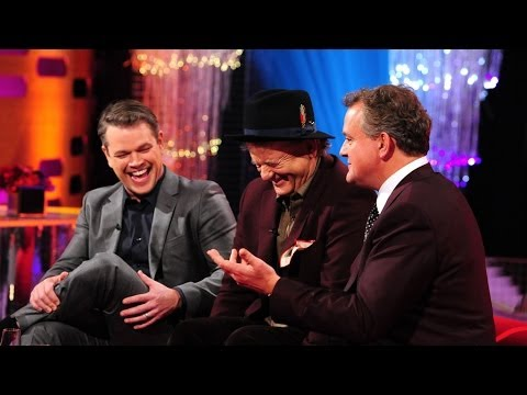 Hugh Bonneville justifies his red lips on Top Gear The Graham Norton Show Episode 16 BBC One