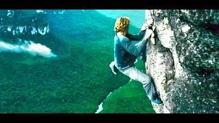 Rock climbing scene from POINT BREAK FULL HD 1080p
