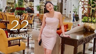 22 Things I Learned In 22 Years | SELF LOVE & CONFIDENCE