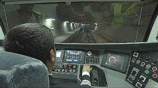 Europe and Asia joined by Marmaray tunnel under the Bosphorus Strait