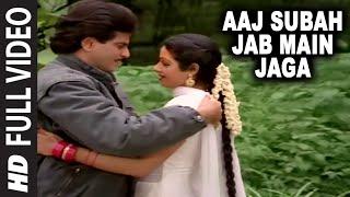 Aaj Subah Jab Main Jaga [Full Song] | Aag Aur Shola | Jeetendra, Sridevi