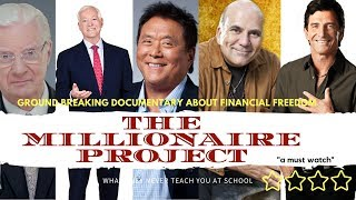 💰The Millionaire Project: New 2017 Documentary about achieving  financial freedom