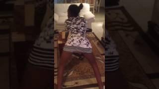 La dance sexy.Africain et fier