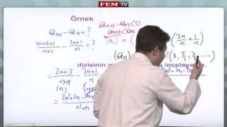 Matematik 2 Eğitim Seti   Diziler ve Seriler - Diziler 2   Fem Yayinlari