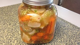 Afghan pickles recipe -Ashar - Turshi recipe -Amalkitchen