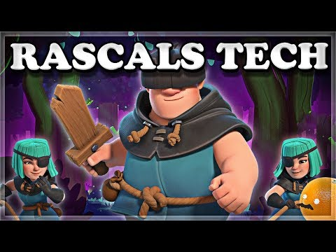 How to Counter and Use Rascals Tech Clash Royale 🍊
