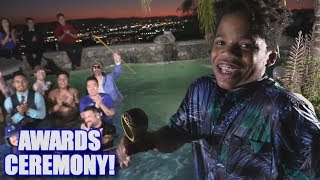 AWARDS CEREMONY IN THE POOL! | On-Season Softball League