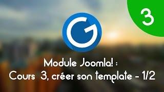 Formation IMM - Module Joomla!: Cours 3 , créer son template Joomla! 1/2