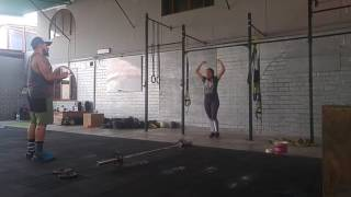 Wod 16.1 desafío crossfit Perú Dalila Alvarez BodyCross